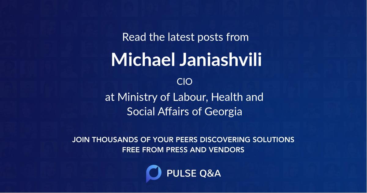 Michael Janiashvili