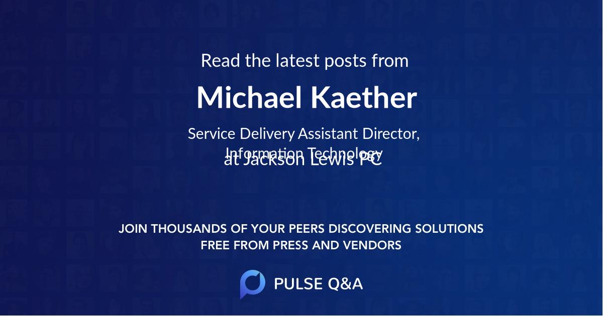 Michael Kaether