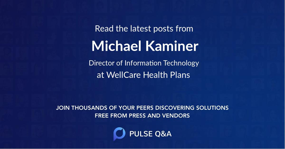 Michael Kaminer
