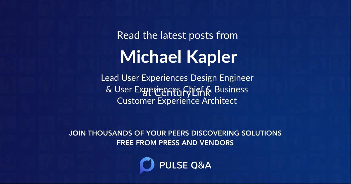 Michael Kapler