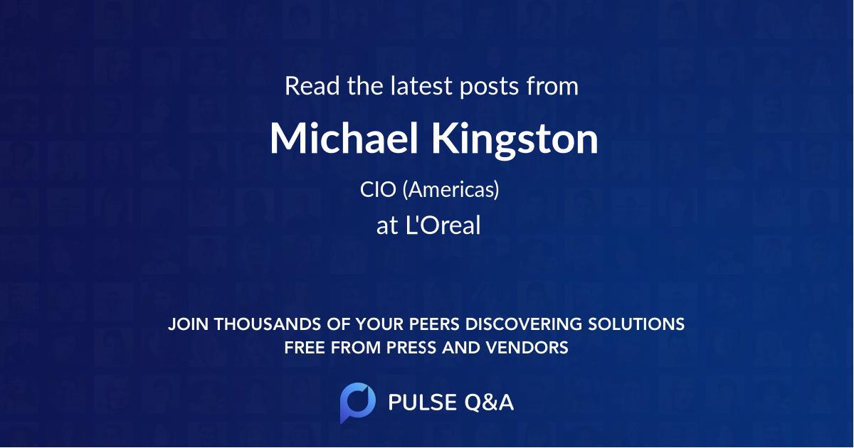 Michael Kingston