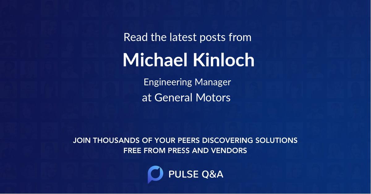 Michael Kinloch