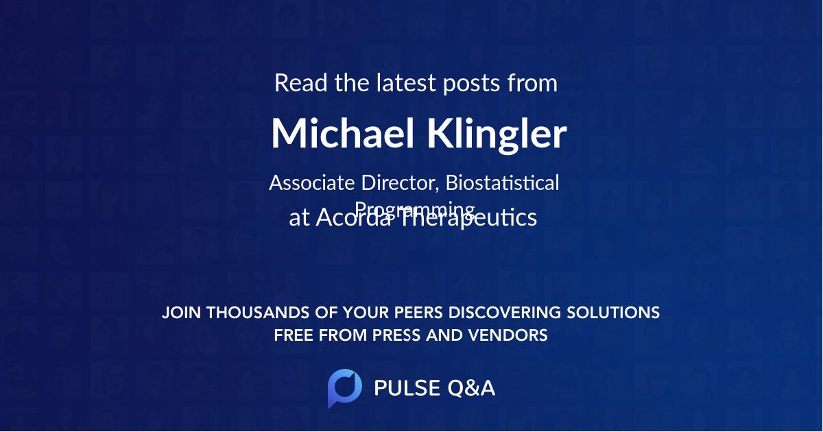 Michael Klingler