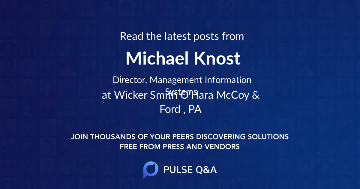 Michael Knost