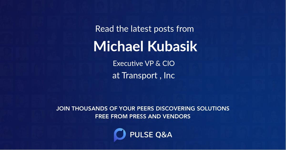Michael Kubasik