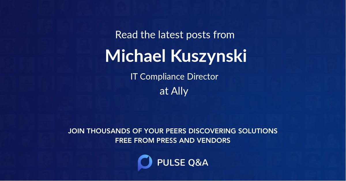 Michael Kuszynski
