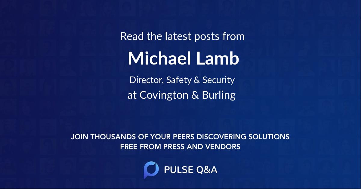 Michael Lamb