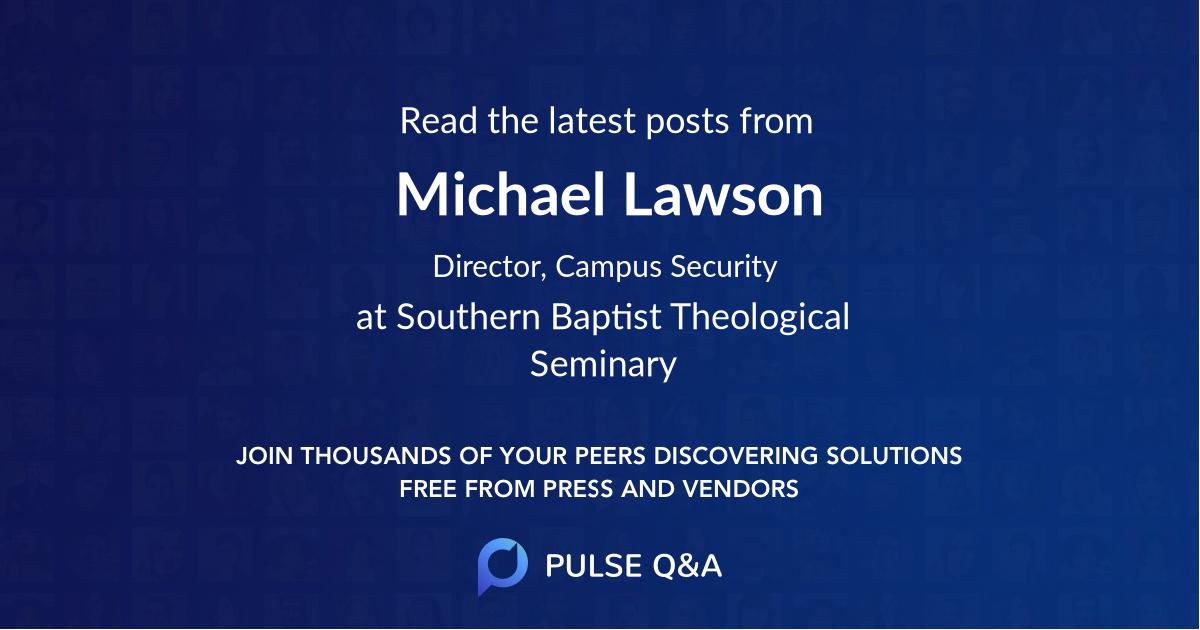 Michael Lawson