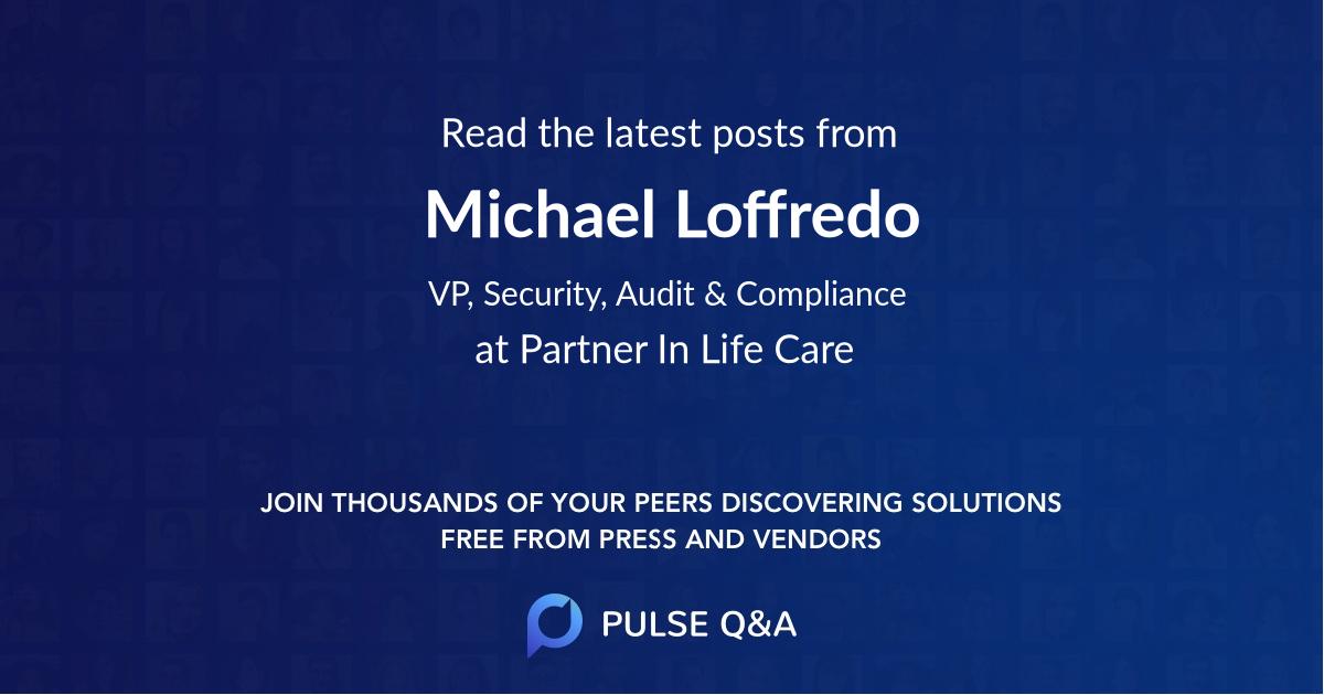 Michael Loffredo