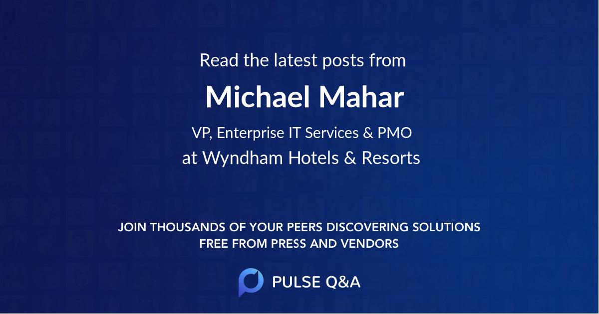 Michael Mahar