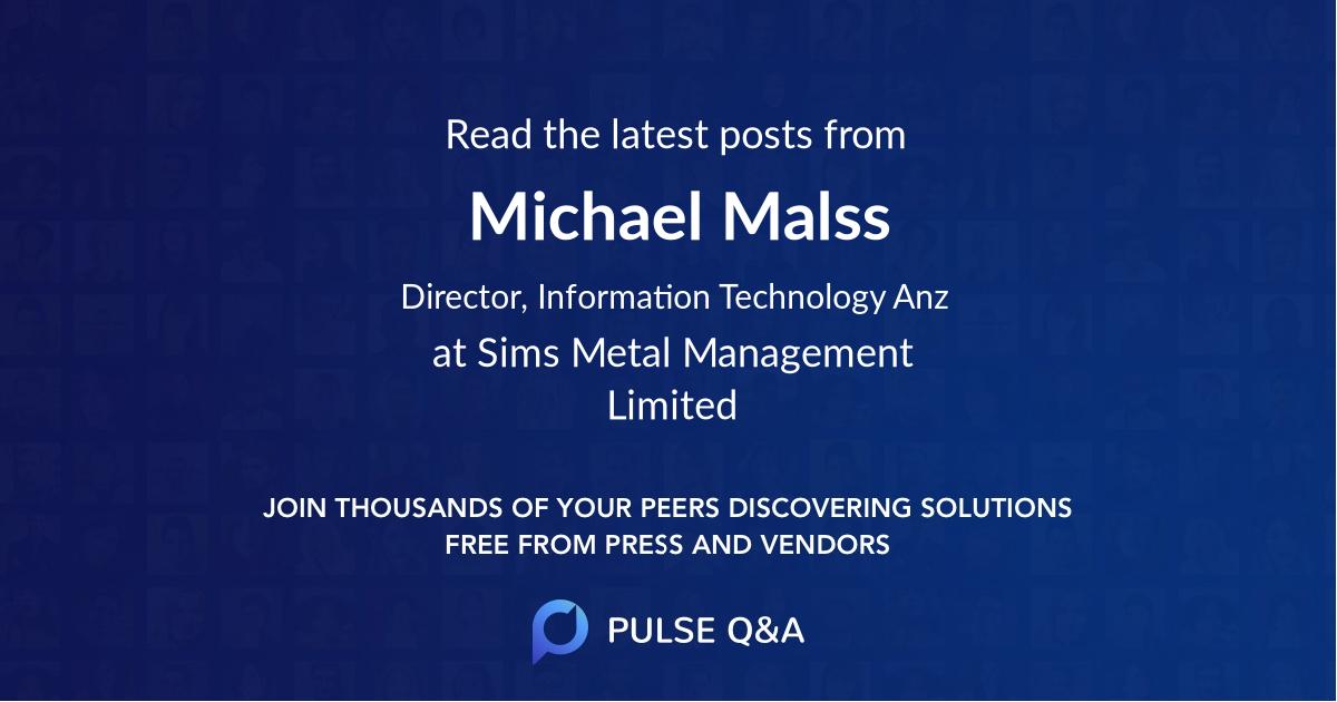 Michael Malss