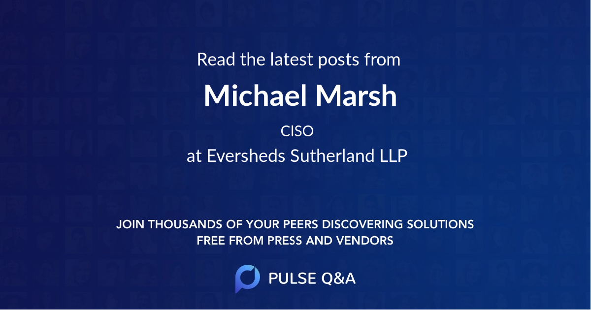 Michael Marsh