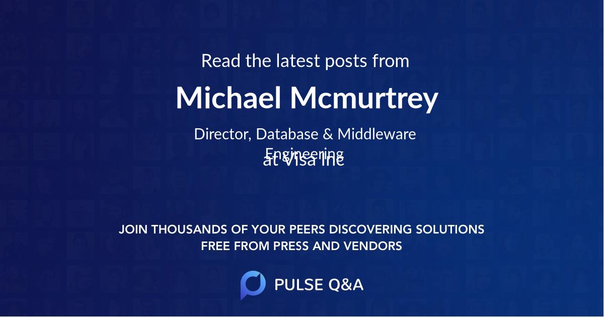 Michael Mcmurtrey