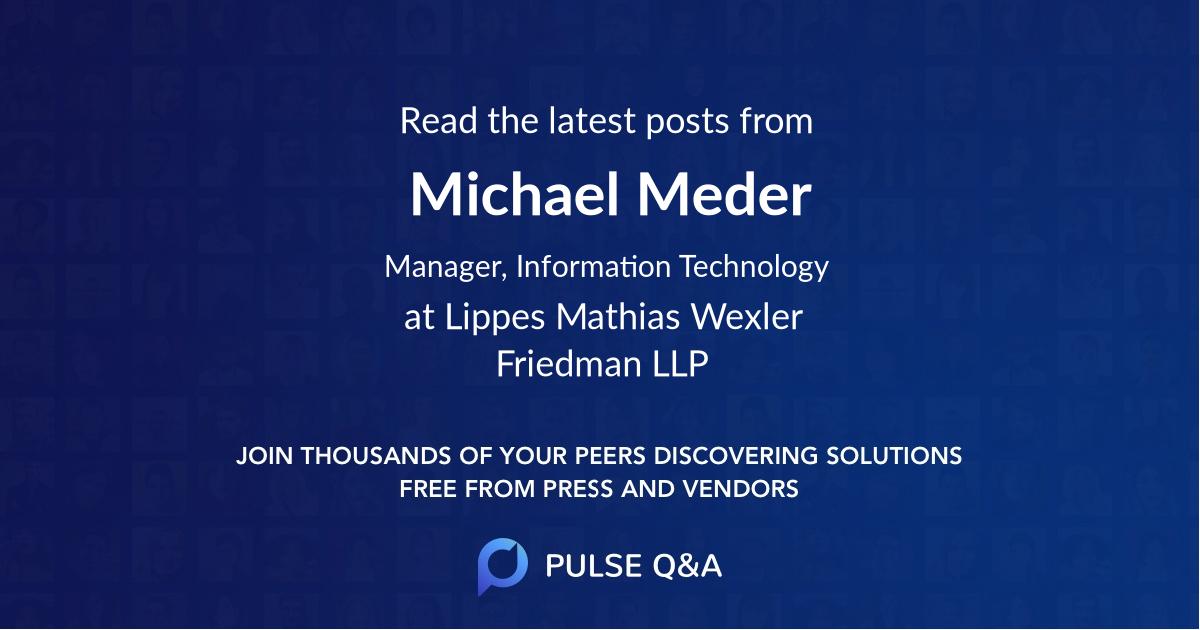Michael Meder