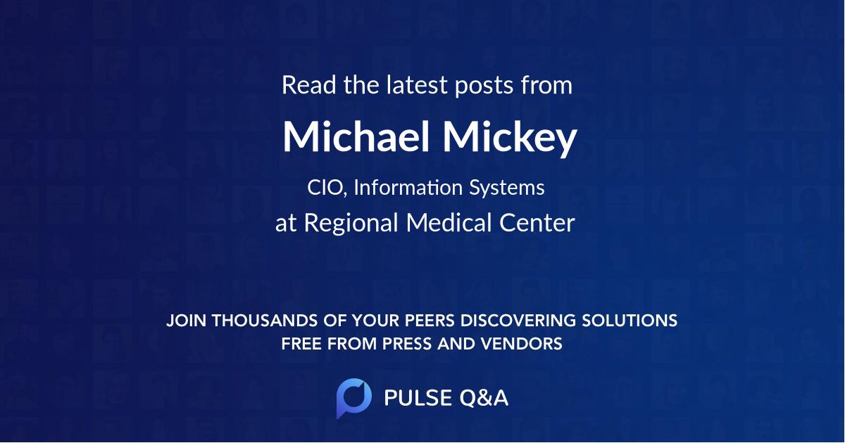 Michael Mickey