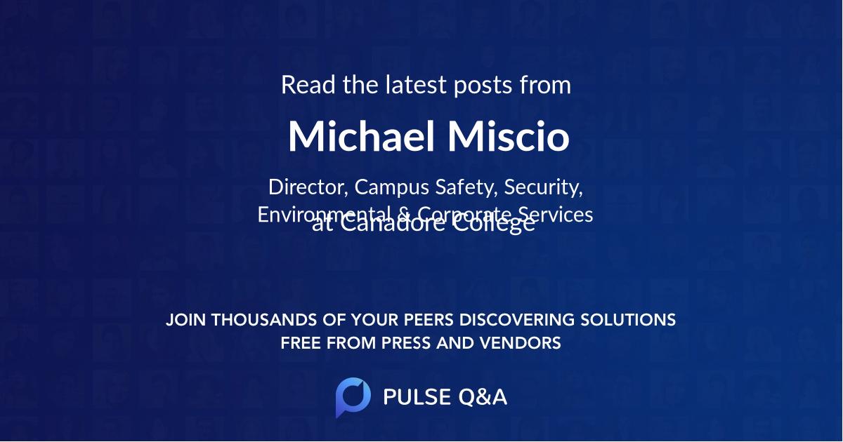 Michael Miscio