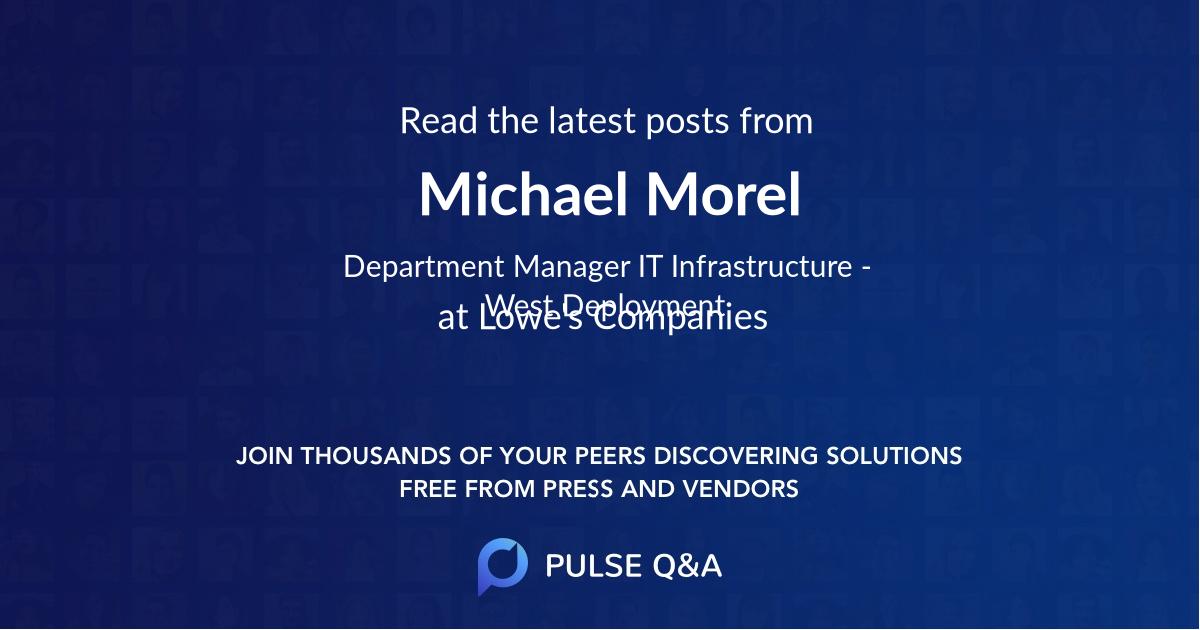 Michael Morel