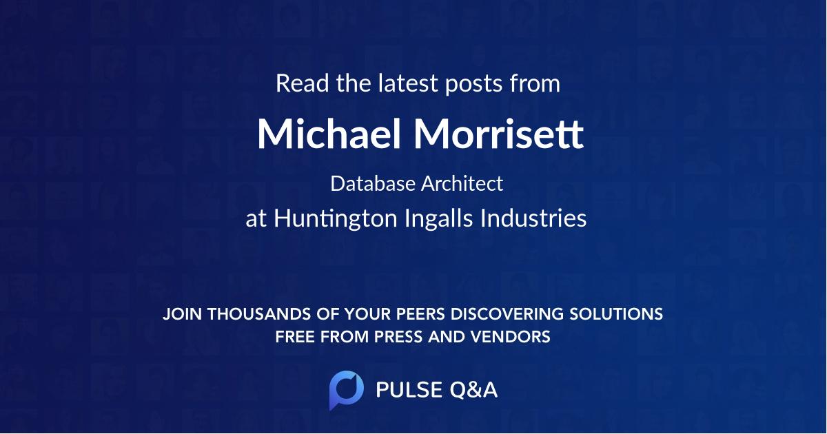 Michael Morrisett