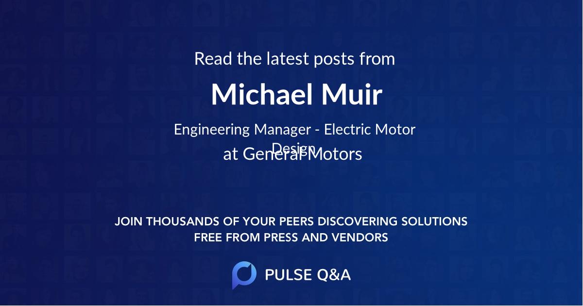 Michael Muir