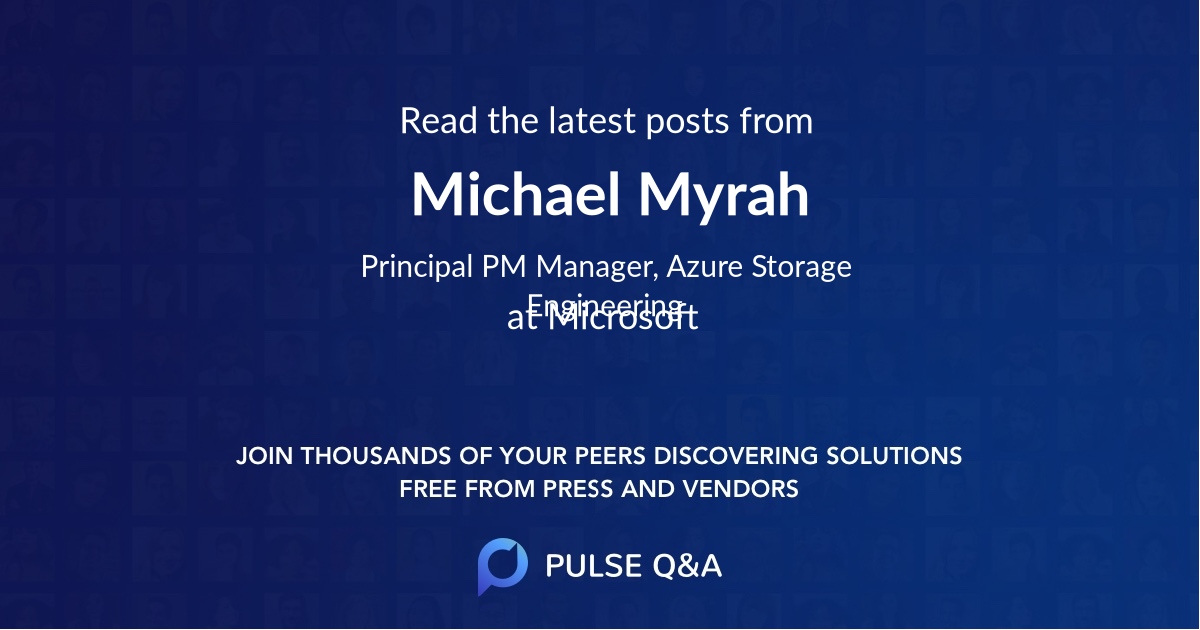 Michael Myrah
