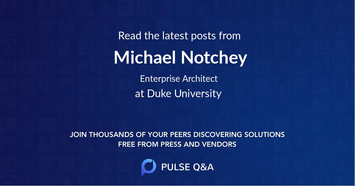 Michael Notchey