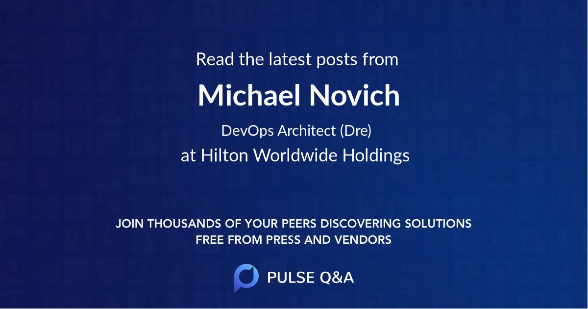 Michael Novich