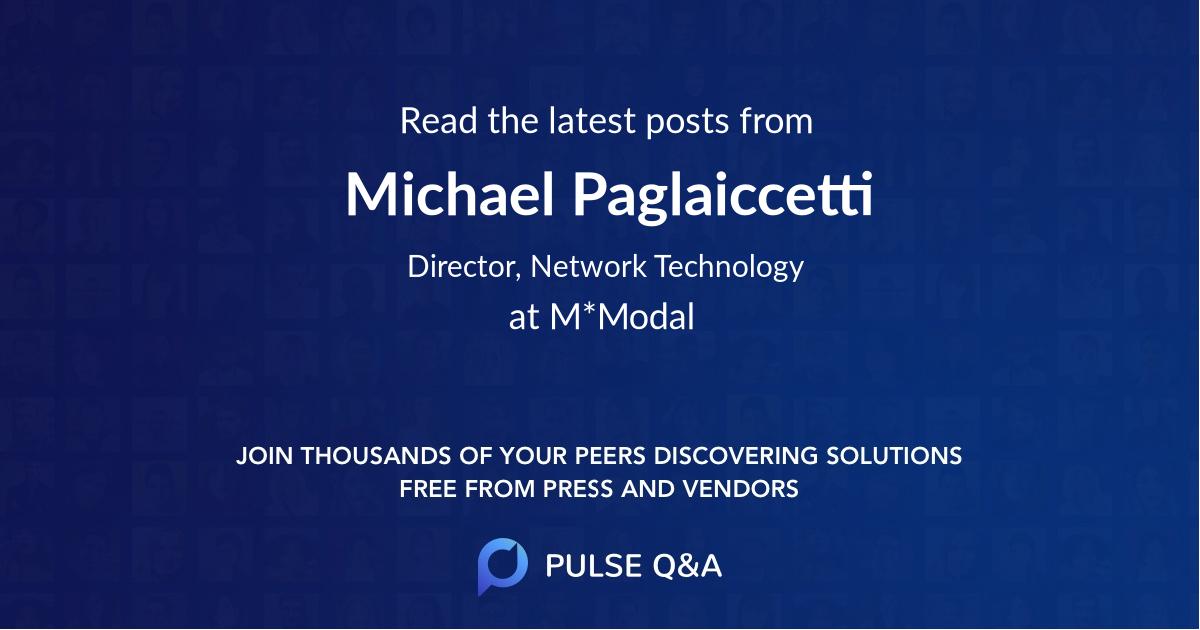 Michael Paglaiccetti