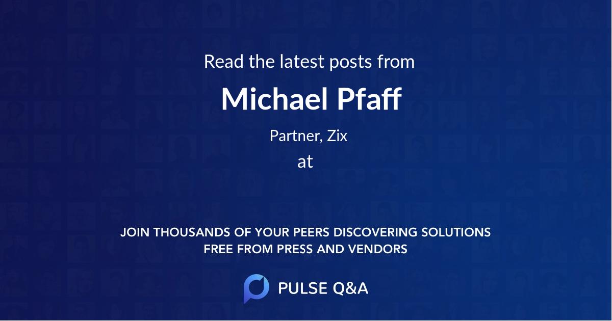Michael Pfaff