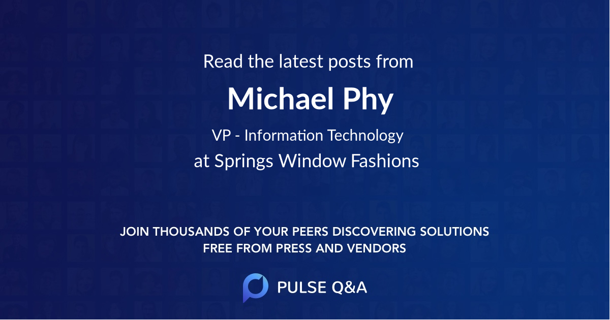 Michael Phy
