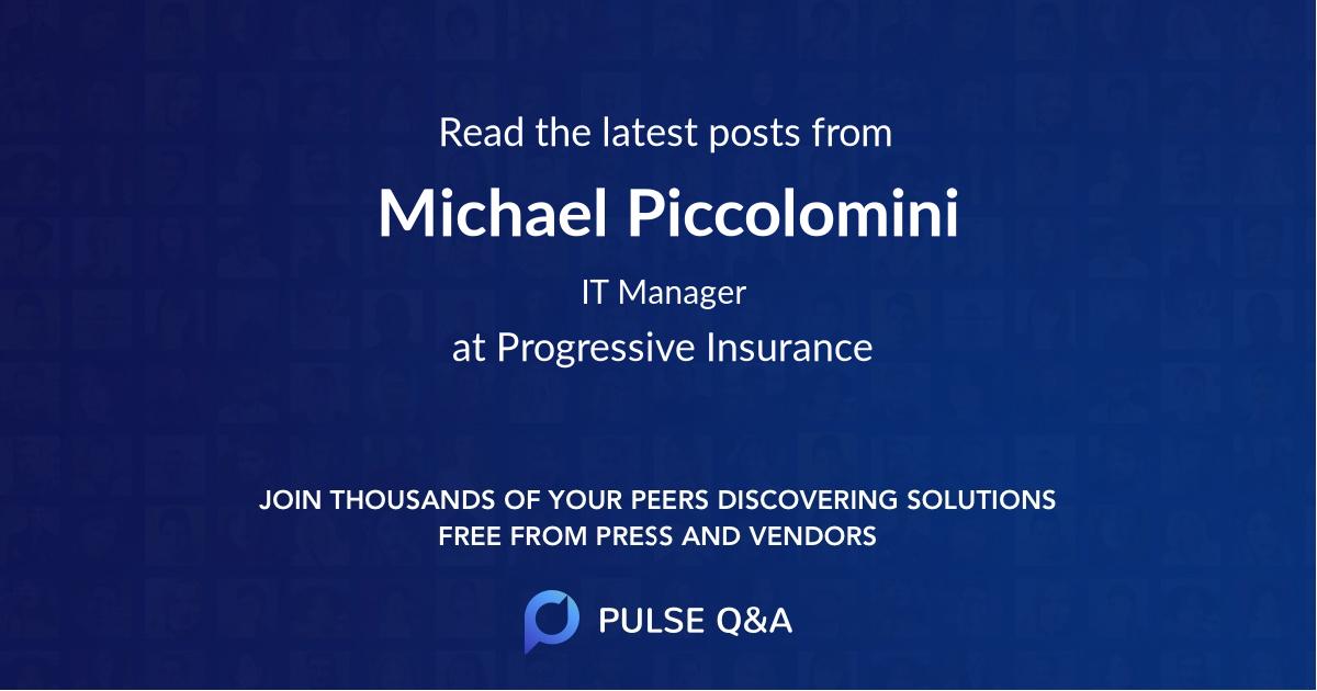 Michael Piccolomini