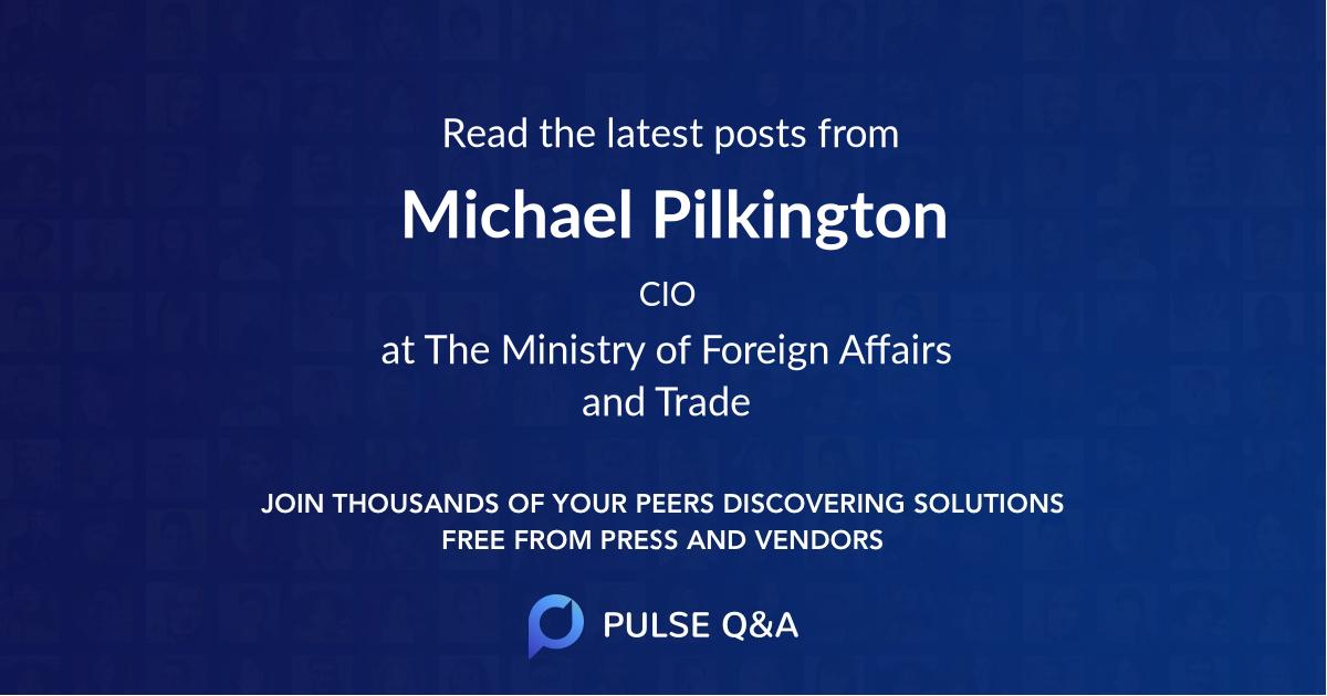 Michael Pilkington
