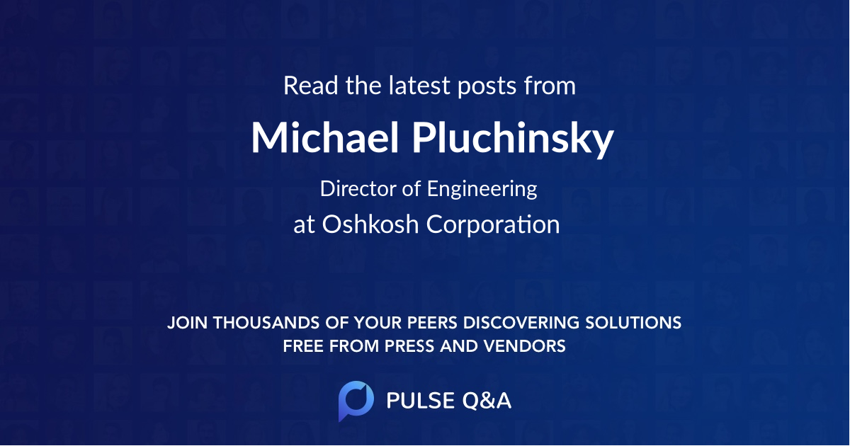 Michael Pluchinsky
