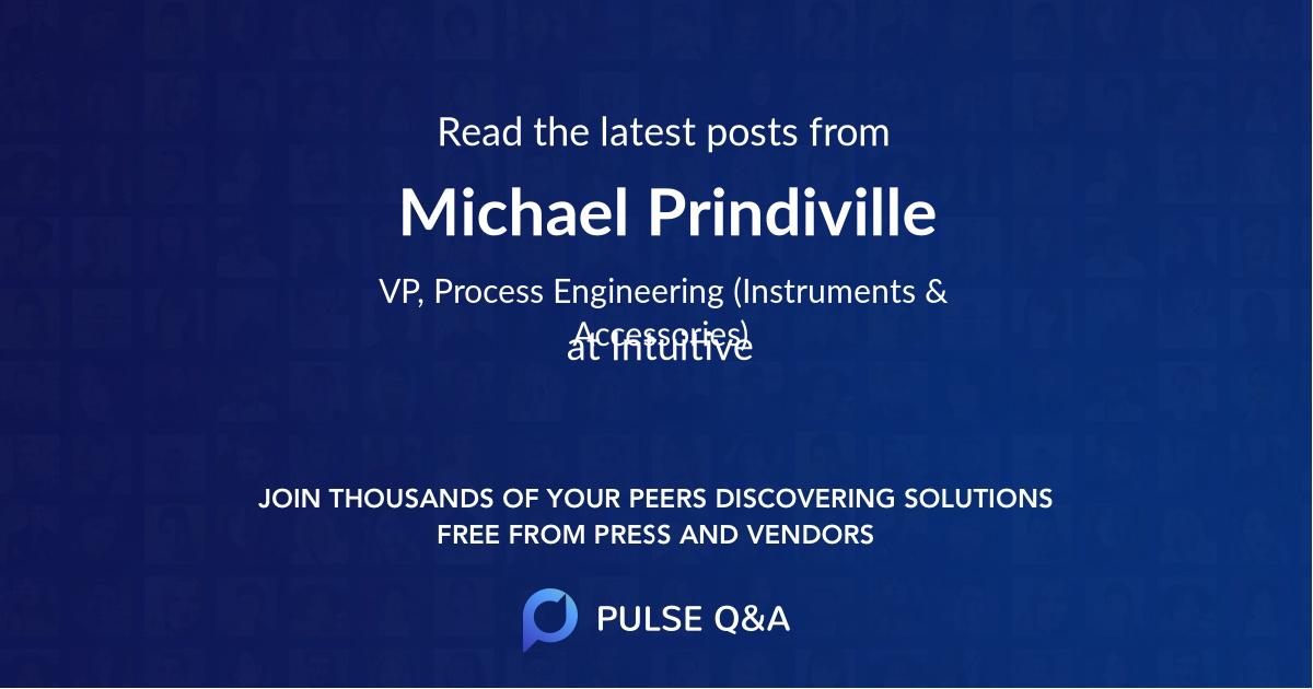 Michael Prindiville