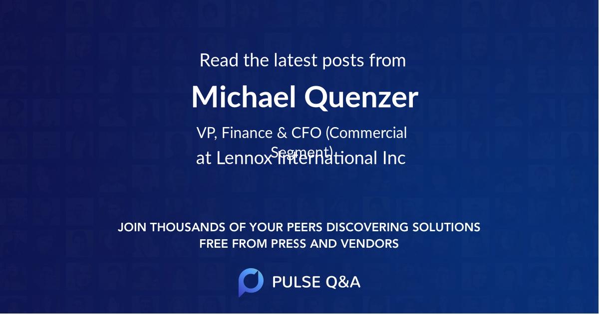 Michael Quenzer