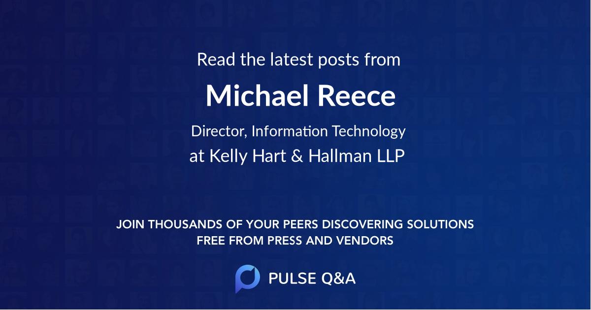 Michael Reece