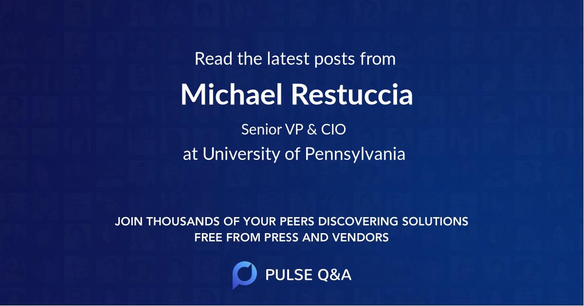 Michael Restuccia