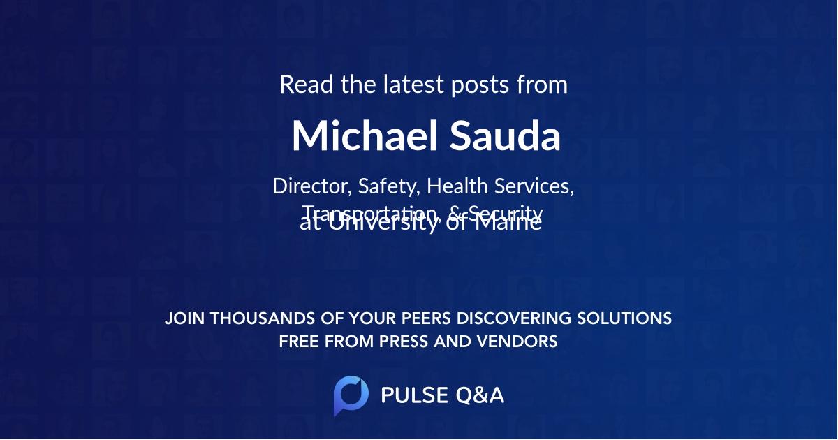 Michael Sauda