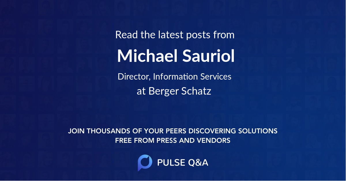 Michael Sauriol