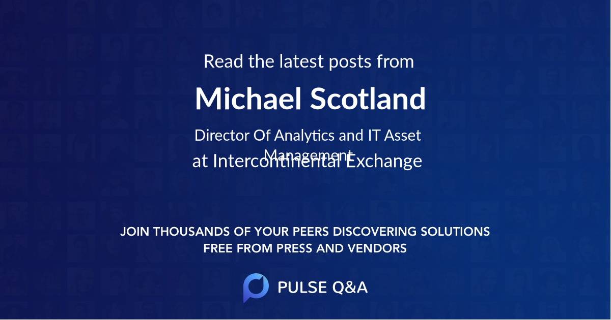 Michael Scotland