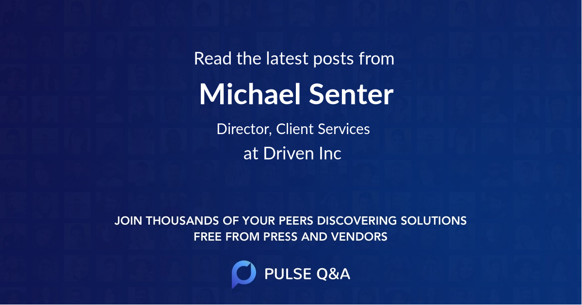 Michael Senter