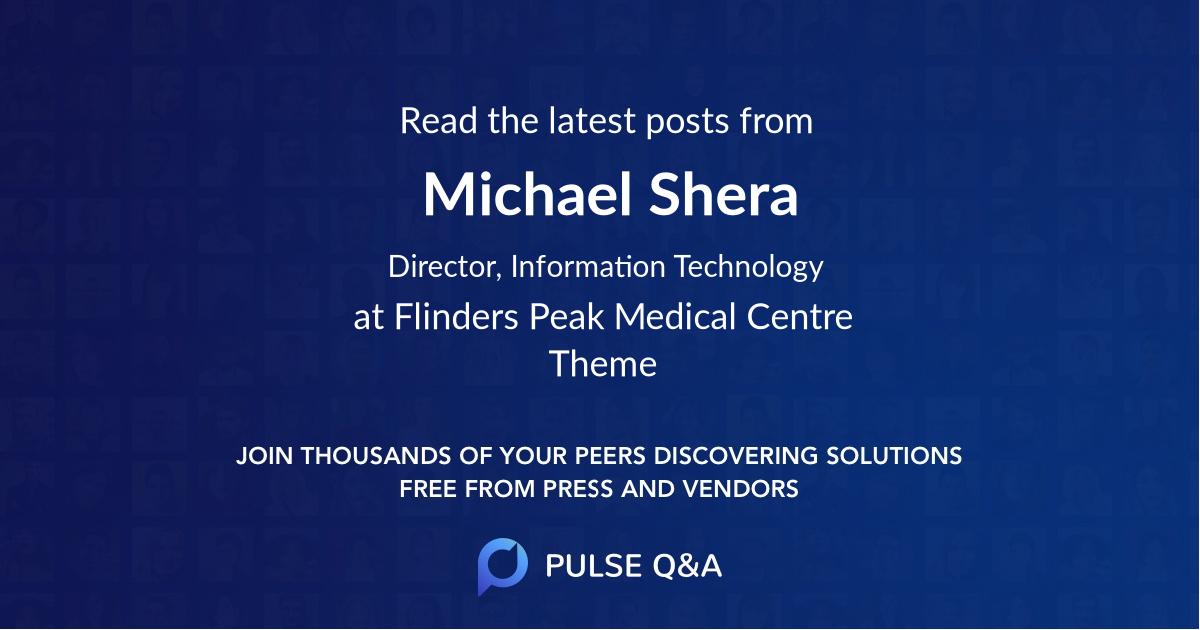Michael Shera