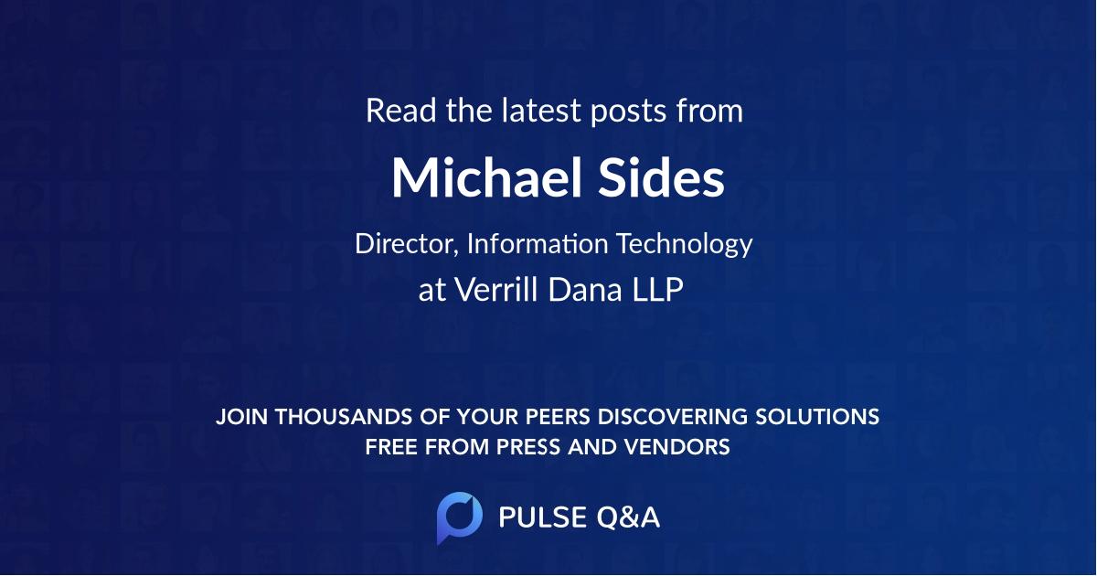 Michael Sides