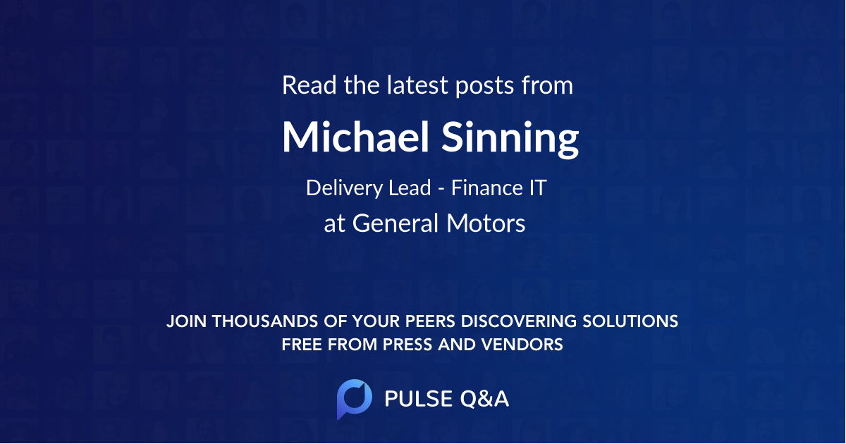 Michael Sinning