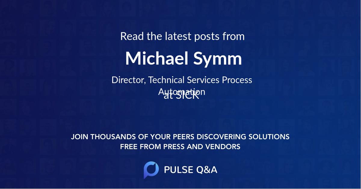 Michael Symm