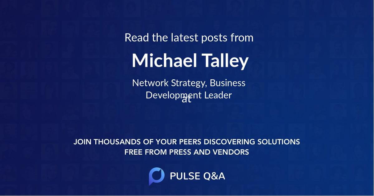 Michael Talley