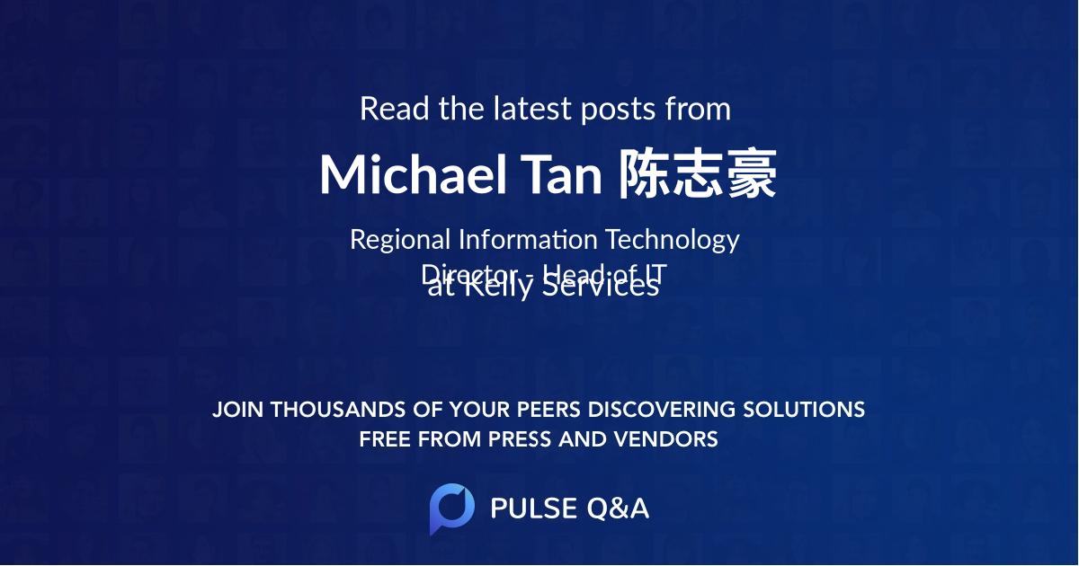 Michael Tan 陈志豪
