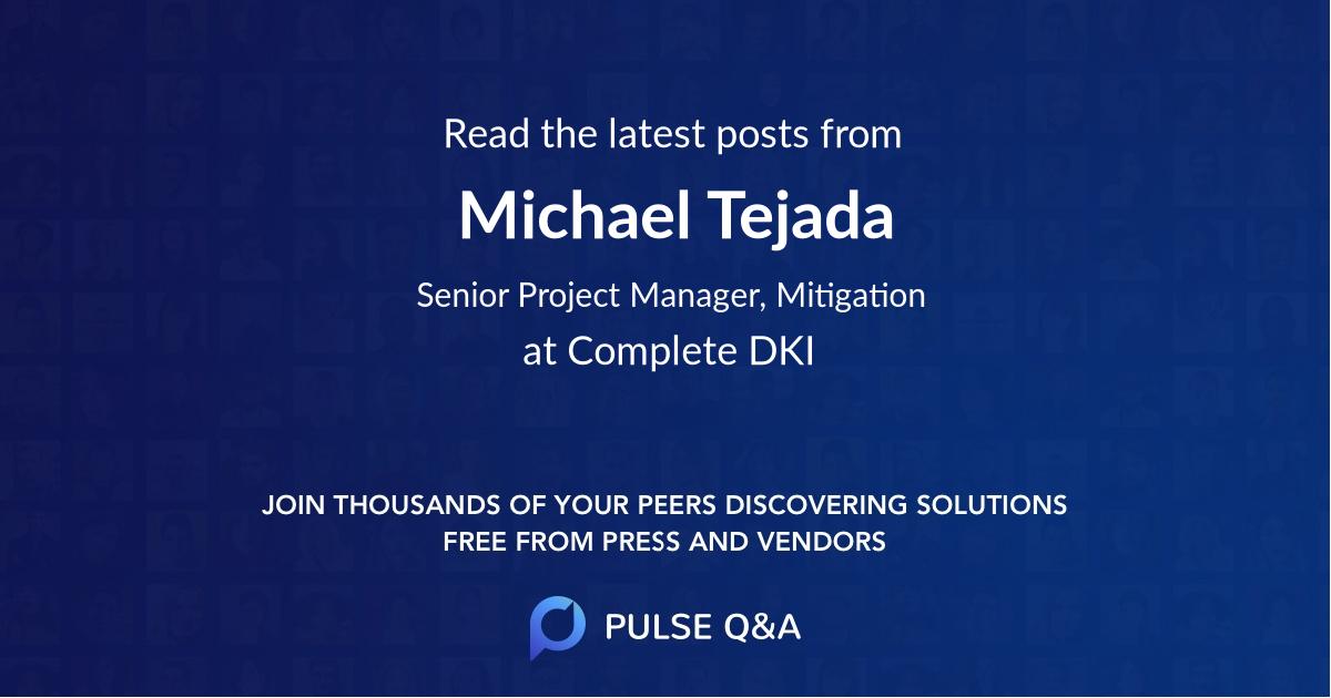 Michael Tejada