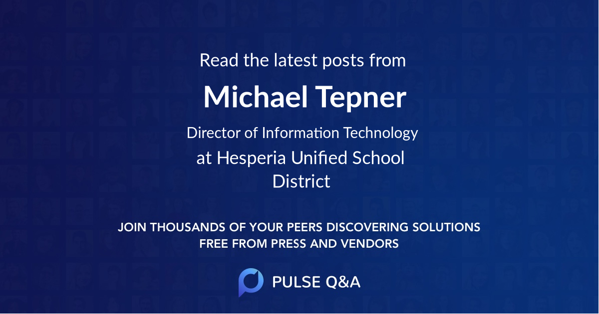 Michael Tepner