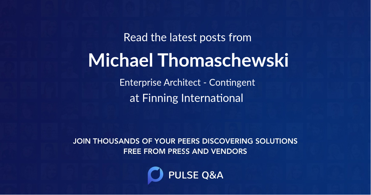 Michael Thomaschewski