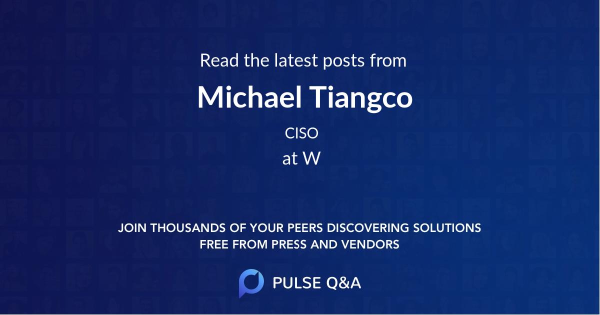 Michael Tiangco